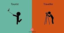 10 różnic między turystą a ...