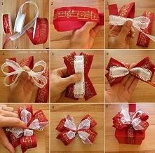 jak zapakować prezent na świeta? oto przykład pięknego ozdabiania