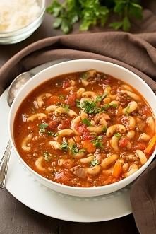 zupa z pomidorami i wołowiną