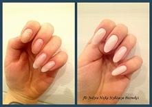 Przedłużanie paznokci metodą żelową na formie. Przed, w trakcie i po. Naturalny efekt!