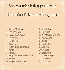 wyzwanie świąteczne  fb: Dominika Mizera Fotografia