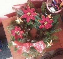 wianek świąteczny. handmade