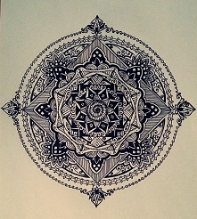 baroque mandala