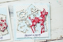 Kartki handmade Boże Narodz...