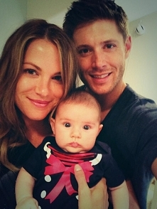 Jensen ♥ z żoną i córką
