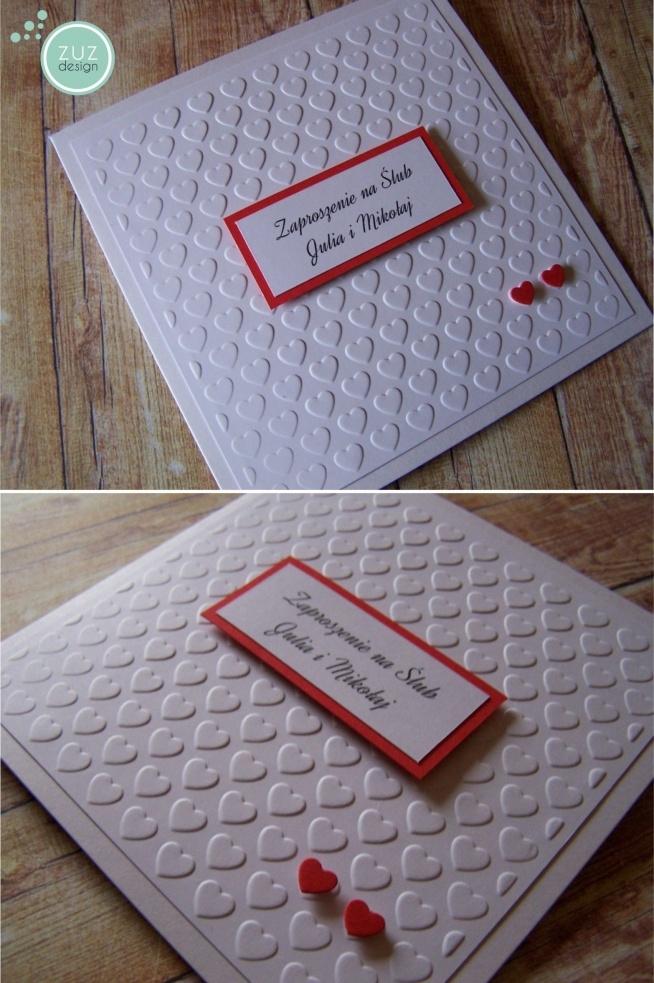 Zaproszenia ślubne Zuzdesignfacebook Na Zaproszenia ślubne