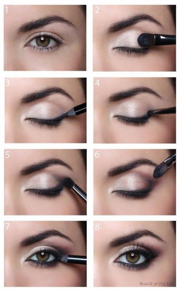 Bo Kobiety Kochają Brąz śliczny Makijaż Oka Krok Po Kroku