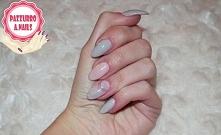 Manicure Negative Space nails w połączeniu z efektem syrenki :)