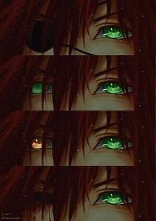 Lavi's eyes :)