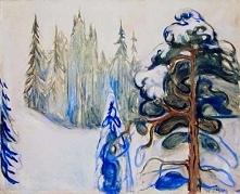 Edvard Munch, Zima