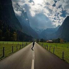 Lauterbrunnen Valley. Szwajcaria