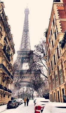 Paris, winter