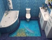 Pomysłowy wystrój łazienkowy