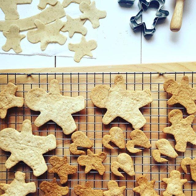 Gingerbreads!! Pyszne, kruche, bezglutenowe i bez jajek (opcja wegańska). Przepis po kliknięciu w zdjęcie