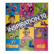 Witajcie, dziś trochę inspiracji:)  dla posiadaczy koralików Hama midi - INSP...