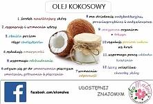 12 powodów, dla których warto stosować olej kokosowy! Lubicie? :)
