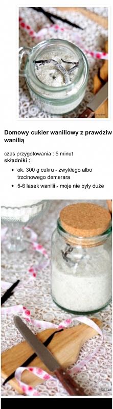 domowy cukier waniliowy - m...