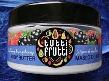 Farmona Tutti Frutti Jeżyna i Malina - Jak każde masło tej firmy, dobrze nawilża i uelastycznia skórę. Dodatkowo ten wariat zapachowy pachnie jak.... malinowa Mamba! Codziennie ...