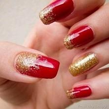 Złoto z czerwienią
