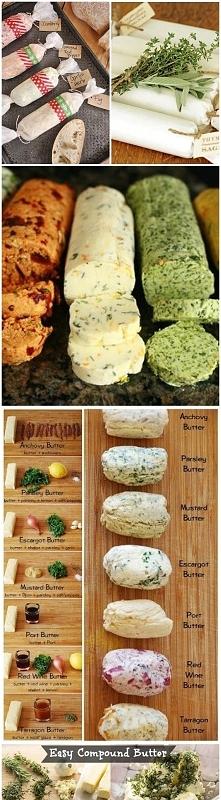 masło smakowe- super prezent zrobiony własnoręcznie