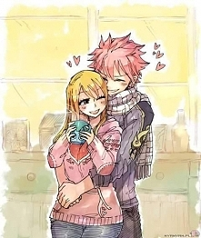 Natsu and Lucy :D