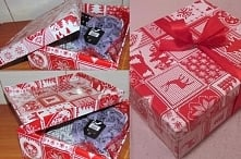 Nie masz co robić z pudełkami po butach? Wystarczy papier ozdobny i klej/taśm...