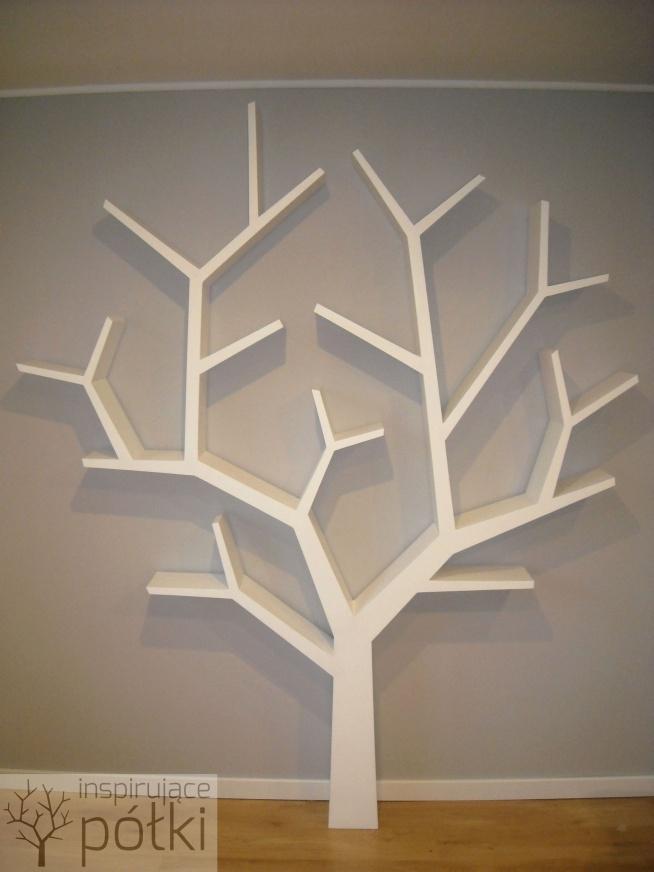 Półka Drzewo 240x200x18cm Nasza Realizacja Koszt Od 1200zł
