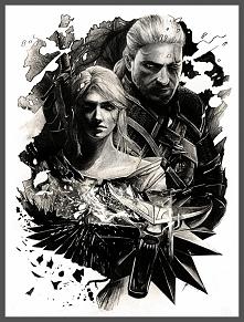 Ciri i Geralt