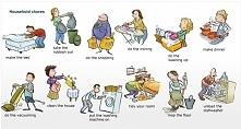 Obowiążki domowe po angielsku