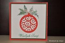 Kartka bożonarodzeniowa wyk...