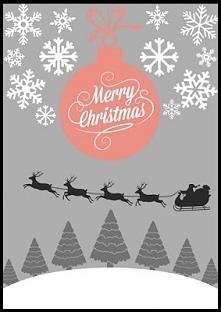 Plakat świąteczny do druku po kliknięciu w obrazek :)
