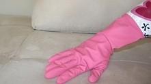 Gumowa wilgotna rękawiczka ...