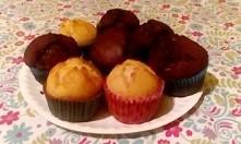 babeczki czekoladowe o waniliowe :)