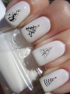 Pomysły na świąteczne stylizacje paznokci! Więcej inspiracji w linku poniżej!