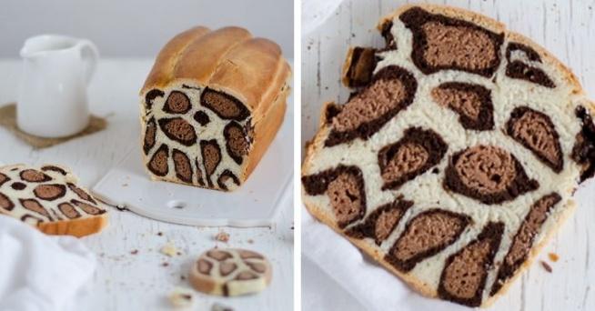 Przepis na lamparci, mleczny chlebek :D