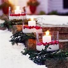 stroiki ze świecami, piękne