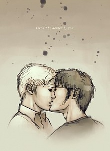 pocałunek Drarry