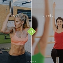 Crossfit vs Zumba ❤️  Dwa rodzaje aktywności, które w ostatnim czasie zyskały znacznie na popularności.   Dzielą je jednak znaczące różnice:  * crossfit to typowy trening siłow...