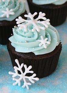 Winter cupcake :)