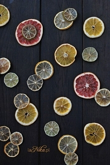 Jak ususzyć owoce cytrusowe? Kliknij w zdjęcie ;)