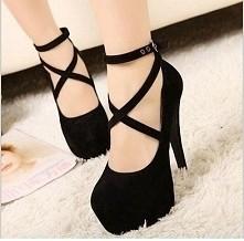 Potrzebuje pomocy :) poszukuję oto takich butów :) ale niestety nie mogę znaleźć . są piękne :) nie muszą byc identyczne :) chodzi mi o buty na obcasie z takim oto paskiem :)