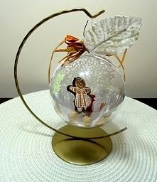 Bombkowy upominek lub dekoracja świąteczna :) Kliknij w zdjęcie po więcej!