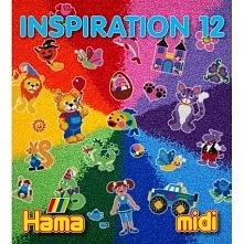 Witajcie,   Kolejne inspiracje od Hama:)  Tym razem Hama Midi - INSPIRACJE 12...