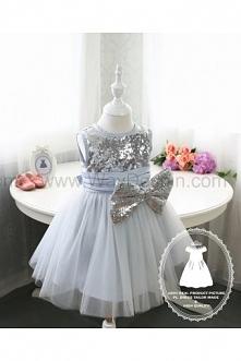 HOT!! Toddler/Infant/Baby/Newborn Glitz Pageant Dress with Silver Sequin, Thanksgiving Dress, Halloween Dress