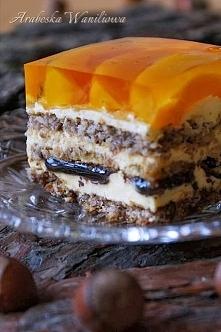 Kora orzechowa. super przepis i pyszne ciasto:)