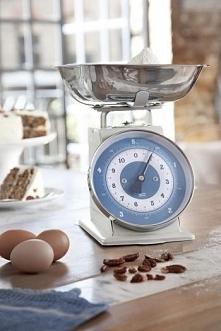 Waga kuchenna retro, niebieska - Jamie Oliver