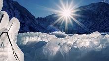 Góry zimą ;'