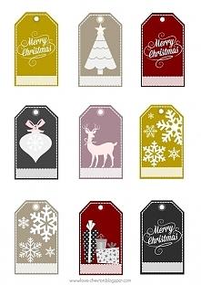 Etykietki świąteczne do pob...