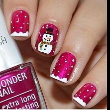 Pomysły na świąteczne stylizacje paznokci! [GALERIA]  Link w komentarzu