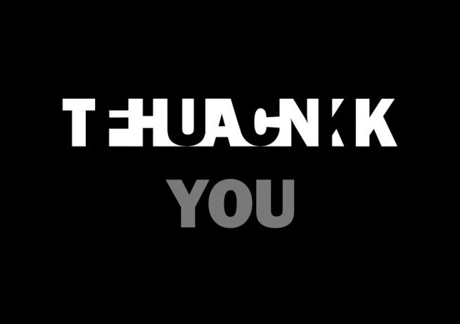 THANK/FUCK YOU ;)
